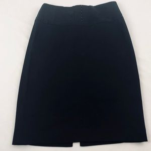 High waisted black pencil skirt size 6